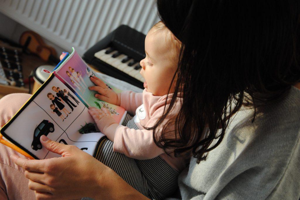 Quais os melhores livros para ler ao bebé?