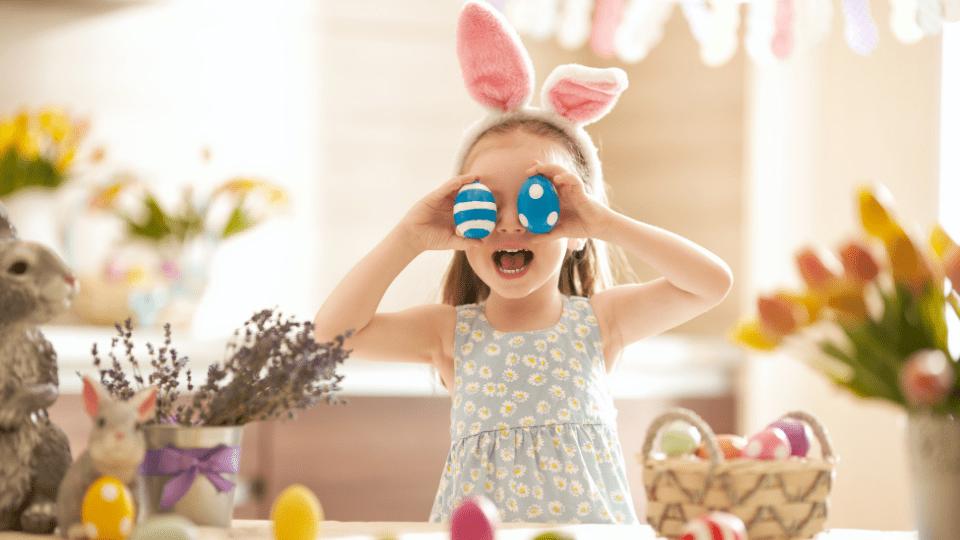 A Páscoa pode ser divertida, mesmo com distanciamento social